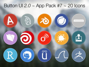 Button UI 2.0 ~ App Pack #7
