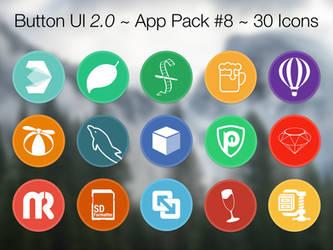 Button UI 2.0 ~ App Pack #8