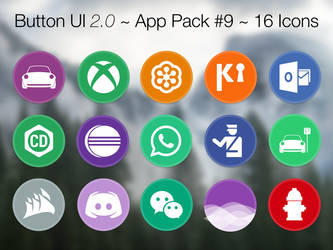 Button UI 2.0 ~ App Pack #9