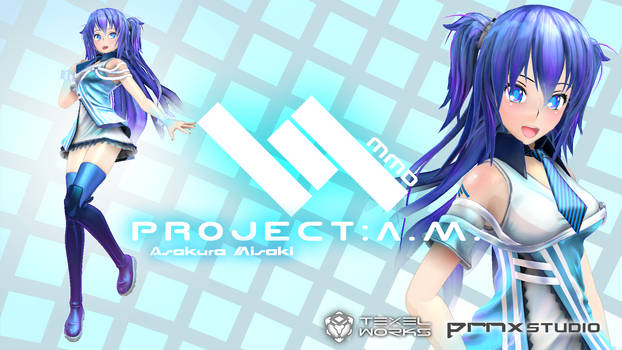 MMD Asakura Misaki ProjectAM PRNX.Inc Release by Digitrevx