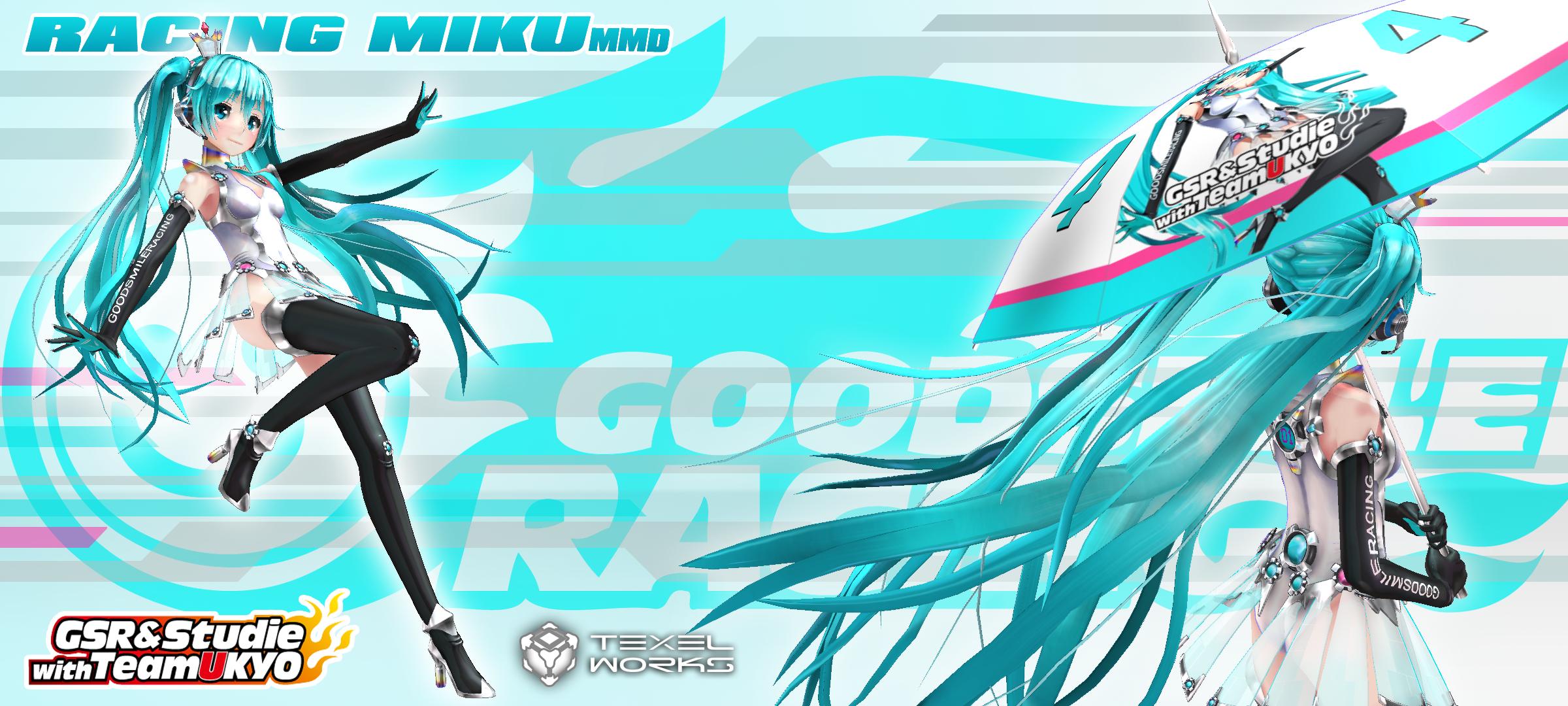 2013 Racing Miku MMD Digitrevx by Digitrevx