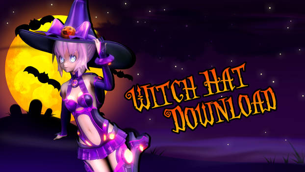 MMD Witch Hat Download