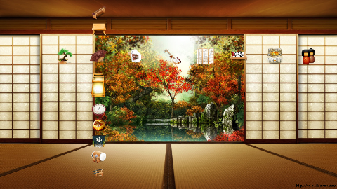 Oriental Garden PSP Theme by Keen-Eddie