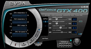 GTX 400 Blue By LeandroJVarini