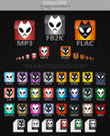 foobar2000 File Types - Icons Pack v1