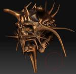 3D'Anim - CREATURE HEAD