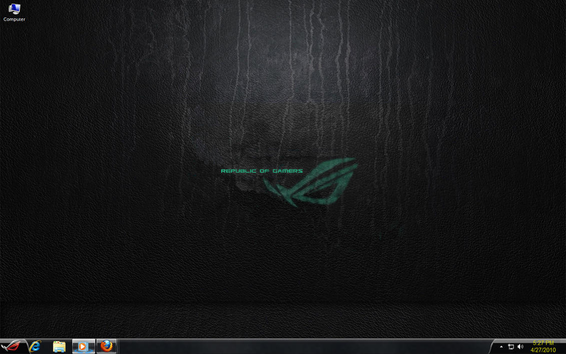 ROG 2 ASUS For Windows 7 By Carlospr21