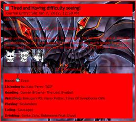 Red-Eyes Darkness Dragon Journal CSS