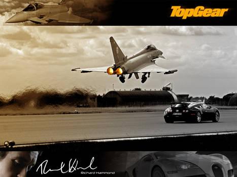 Top Gear Veyron Vs Eurofighter