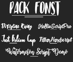 pack fonts by kanall