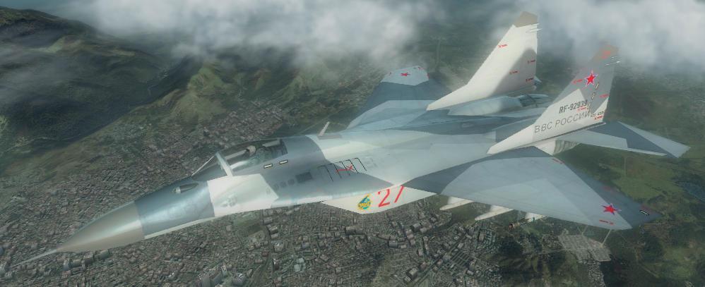 MiG-29SMT VVS #27 HAWX skin by - 290.5KB
