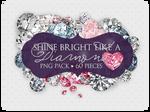 60 Diamonds Gems png pack