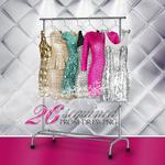 Glitter sequined prom dresses pack