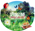 Spring png pack