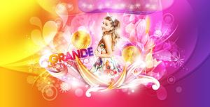 Ariana Grande psd design by iamszissz