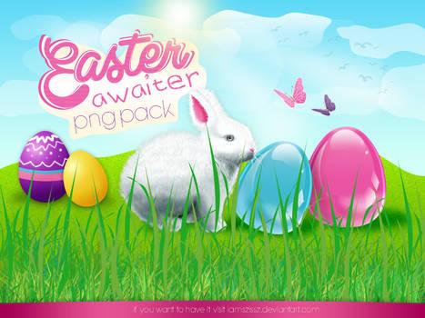 Easter awaiter png pack