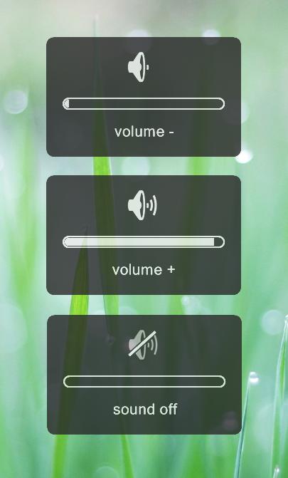 volume OSD skin for Rainmeter by mrg666