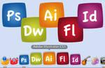 Adobe CS3 Comic Icons
