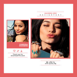Photopack 2111 . Vanessa Hudgens by UNIVERSE-JPEG