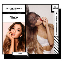 photopack 3350 . ariana grande by UNIVERSE-JPEG