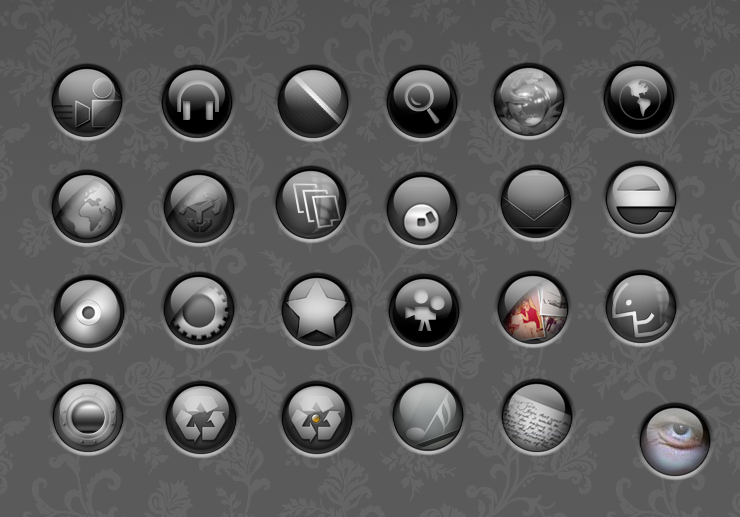 globe icons by krissirk