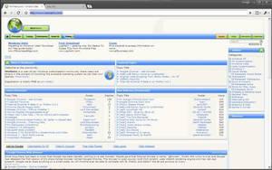 Pitchblack - Chrome theme by devrexster