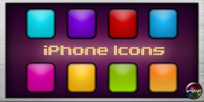 iPhone Icons by yrmybybl