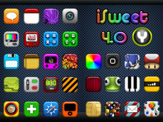 iSweet4.0 Theme for iPhone