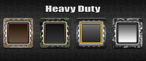 Heavy Duty Icons by yrmybybl