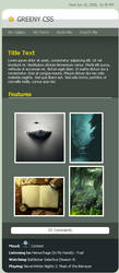 Greeny CSS by duhcoolies
