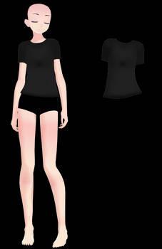 - MMD DOWNLOAD- TDA Male Shirt