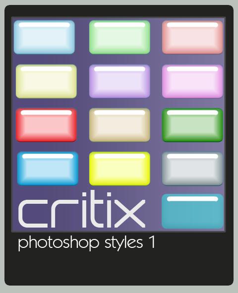 Critix Photoshop Styles 1 by critix