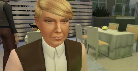 Donald Trump - Sims 4 GIF - By Simdrew1993