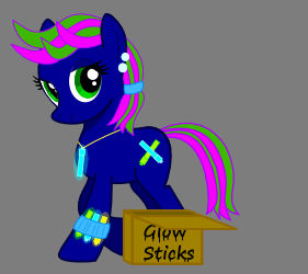 Unnamed Rave Pony