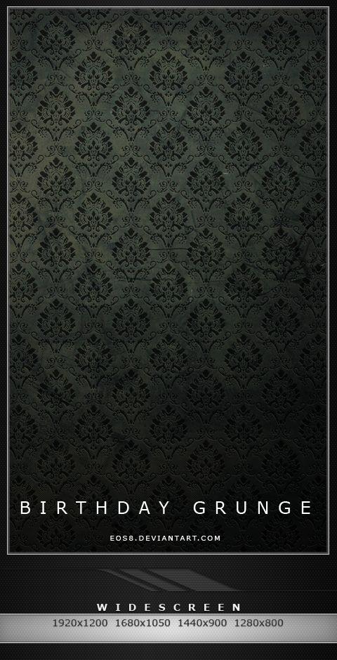 Birthday Grunge Walls by eos8