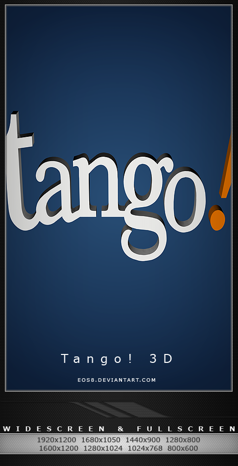 Tango 3D by eos8