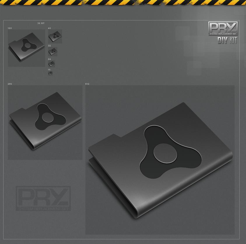 Pry Adobe Air - Etched Black
