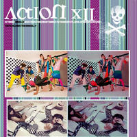 Action 12 tipo retro-vintage by iamsolly