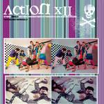 Action 12 tipo retro-vintage