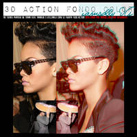 3D ACTION WITH FUND OF COLOUR by iamsolly