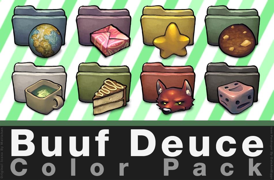 Buuf Deuce Mega Pack in Color by OatsAndEggs