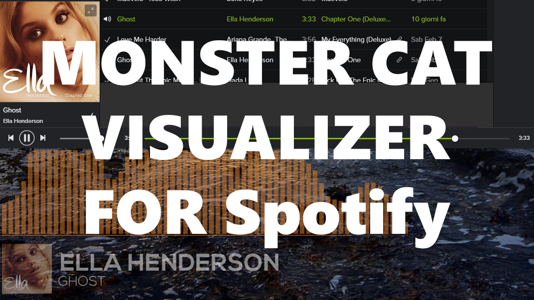 Monstercat Visualizer for Spotify 1 4 [FIXED BUGS] by