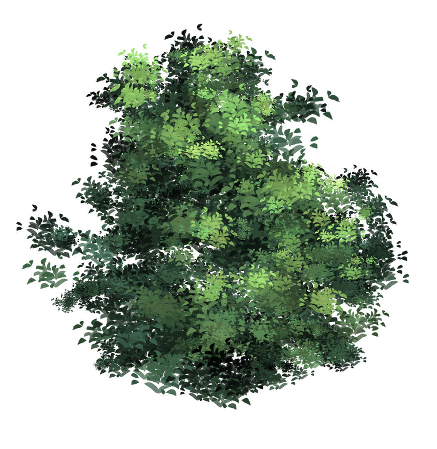 anime type Tree(leaves) brush XD by xong