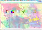 Google Chrome Paint Splatter Theme