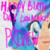 HAPPY BIRTHDAY LOONAKI!!!!!!