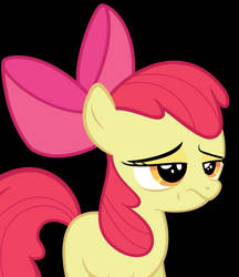 Apple Bloom is skeptical of your bullshit. by Orschmann