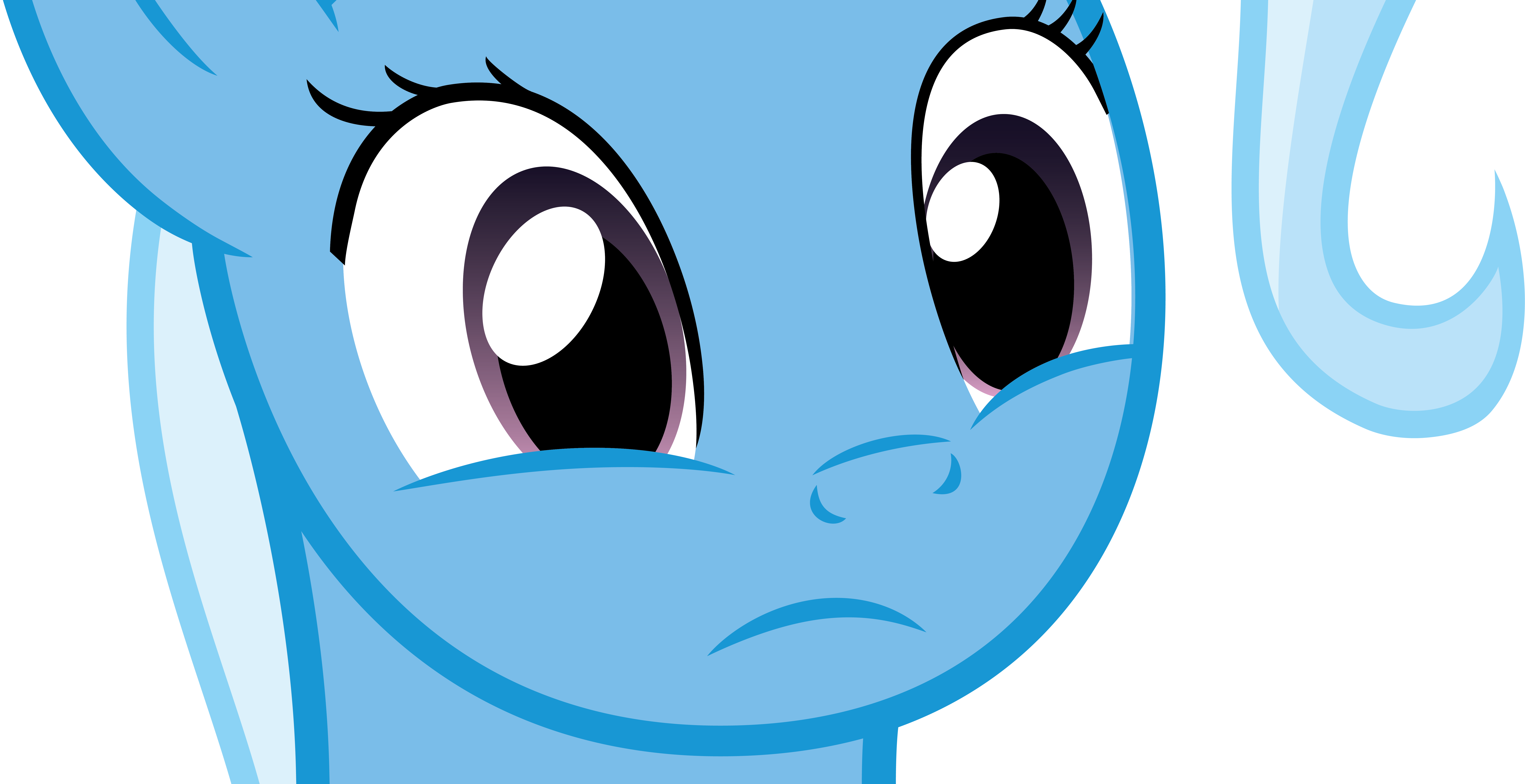 Trixie is ever so slightly confused