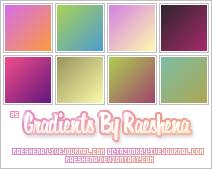 Gradients By Raeshena Batch 1 by Raeshena