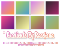Gradients By Raeshena Batch 1 by Raeshena