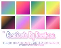Gradients By Raeshena Batch 2 by Raeshena